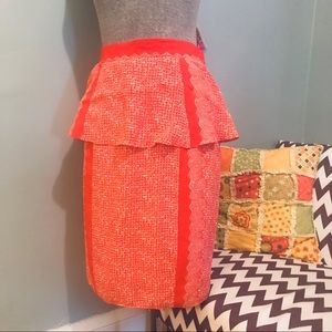 Plenty by Tracy Reese Peplum Skirt